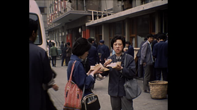 1969 Home Movie - Bejing, China Streets