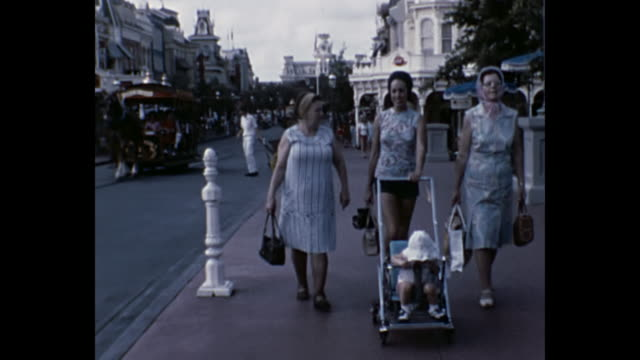 1973 Home Movie - Disneyland trip