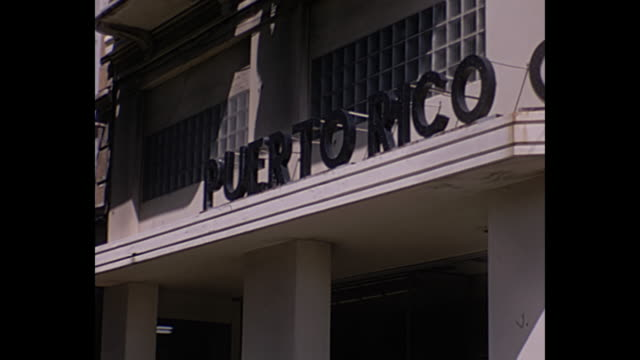 1967 home movie puerto rico - puerto rico stock videos & royalty-free footage