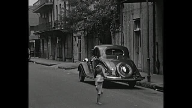 vidéos et rushes de 1934 home movie - steets of new orleans - 1930