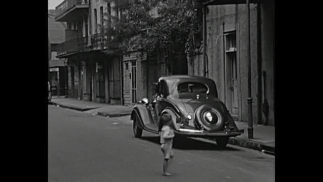 vidéos et rushes de 1934 home movie - steets of new orleans - la nouvelle orléans