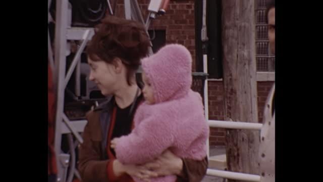 1972 Home Movie - Toddler riding mini ferris wheel