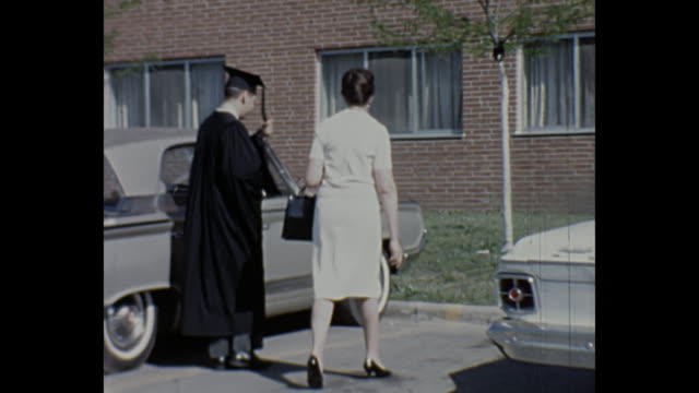 1965 Home Movie - Western Michigan University Graduation