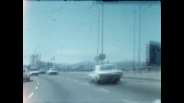 stockvideo's en b-roll-footage met home movies of a trip to the bay area and driving on the 101 freeway north - vrijetijdsbesteding