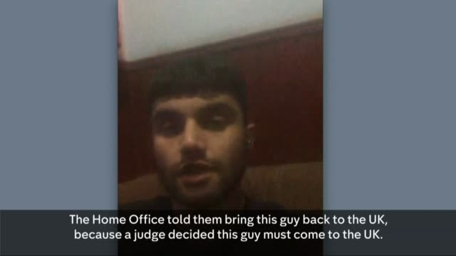 Home Office accused of ignoring court order to return Afghan refugee to the UK Via INTERNET Kabul INT Samim Bigzad interview SOT