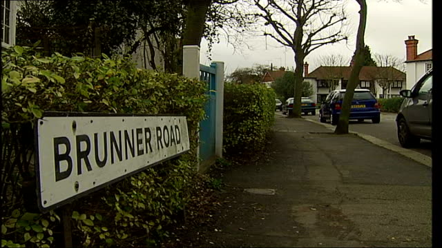 home office convictions files escape vetting procedures ealing ext road where getaway car found - ealing stock videos and b-roll footage