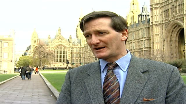 home office criminals' travel ban blunder dominic grieve mp interview sot if this situation continues his period as home secretary will come to an end - dominic grieve stock videos and b-roll footage