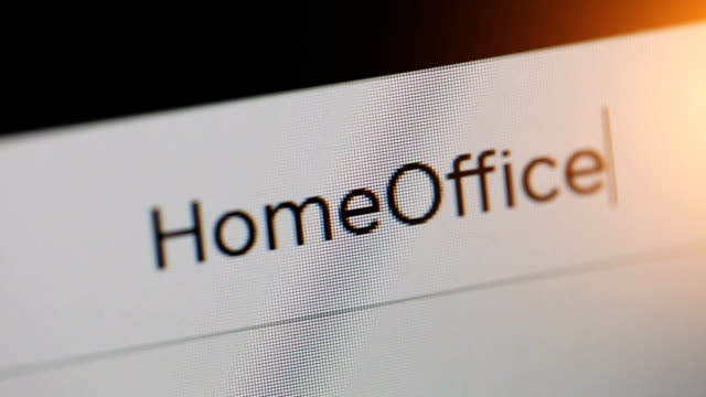 home office - web browser stock videos & royalty-free footage