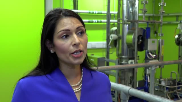 home secretary priti patel outlines plans for a new pointsbased system after freedom of movement ends the changes are designed to cut the number of... - home secretary stock videos & royalty-free footage