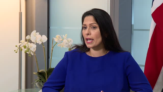 "home secretary priti patel saying ""there are no excuses"" after a report found she had not met ministerial standards - responsibility stock videos & royalty-free footage"
