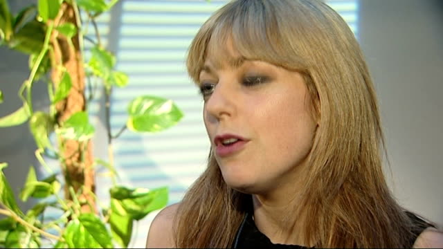 home secretary rejects labour calls to intervene in news of the world phone hacking case; england: london: int charlotte harris interview sot - news of the world stock-videos und b-roll-filmmaterial