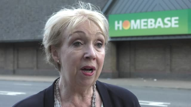 EXT Maureen Hinton interview SOT London GVs Homebase store Customers in Homebase car park/ Vox pops/ Reporter to camera