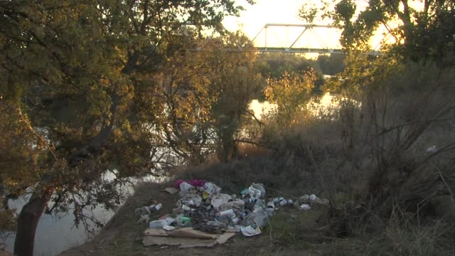 ktxl homeless encampment cleanup in sacramento - barracks stock videos & royalty-free footage
