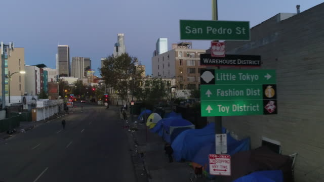 homeless encampment - tent stock videos and b-roll footage