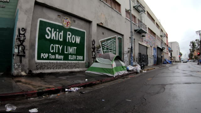 homeless in los angeles - scratched stock videos & royalty-free footage