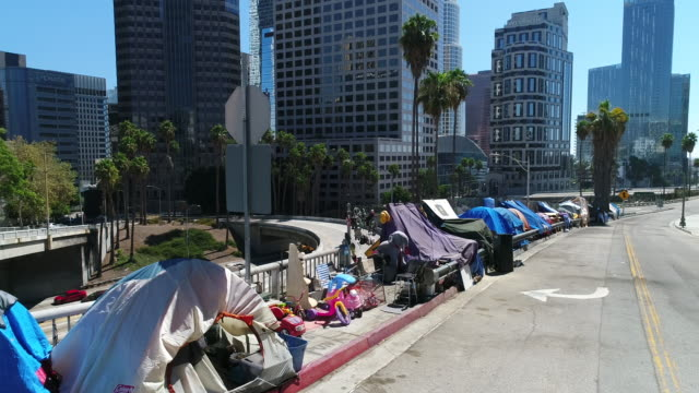 homeless in la - homelessness stock videos & royalty-free footage