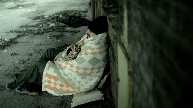 Obdachlos Mann