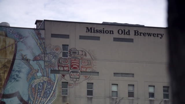 homeless shelter old brewery mission - graffiti stock videos & royalty-free footage