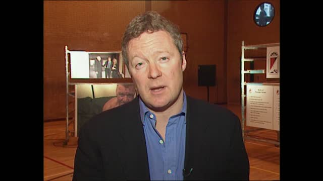 the passage; england: london: int link iv: rory bremner. - rory bremner stock videos & royalty-free footage