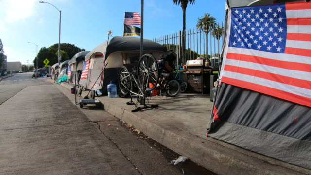 homeless veterans - housing difficulties stock videos & royalty-free footage