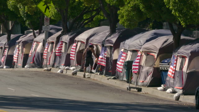 homeless veterans - homelessness stock videos & royalty-free footage