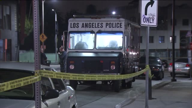 homeless was fatally shot by at least one lapd officer following a confrontation near the historic venice sign on may 6, 2015. - los angeles police department stock videos & royalty-free footage