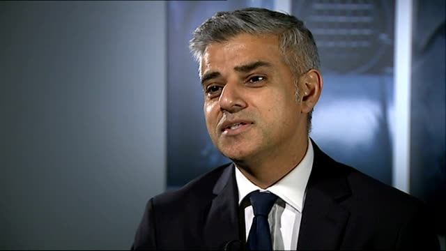 boris johnson says immigrants partly to blame for rise in rough sleepers in london int sadiq khan mp interview sot - sadiq khan stock videos & royalty-free footage
