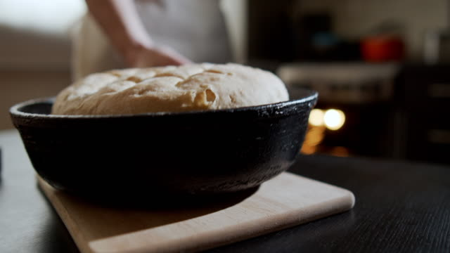 homemade bread - loaf of bread stock videos & royalty-free footage