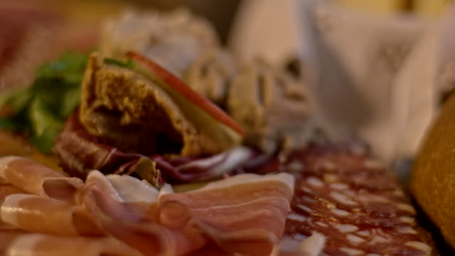 ds homemade cold cuts - french food stock videos and b-roll footage