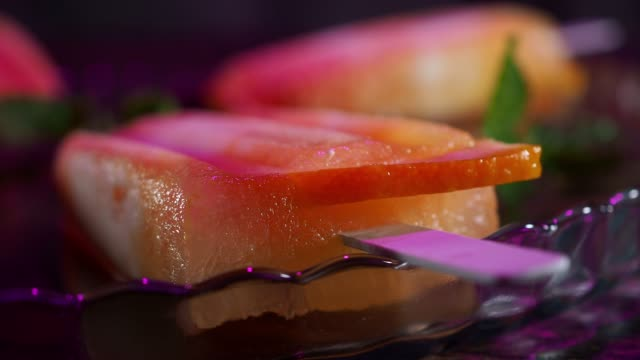 homemade popsicles - frozen yogurt stock videos and b-roll footage