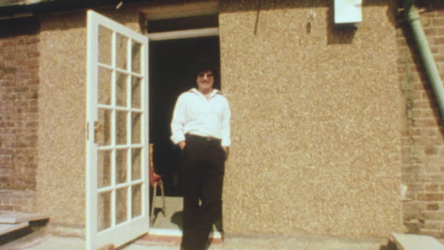 1981 montage homeowner shows home after recent improvements made under the 1980 housing act / united kingdom - 1980 stock videos and b-roll footage