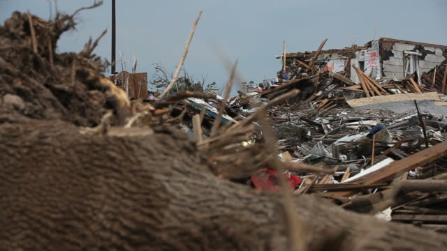 Homes Destroyed by Tornado