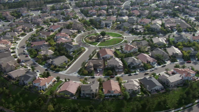 homes fill a suburban neighborhood in chula vista, california. - southern california stock videos and b-roll footage