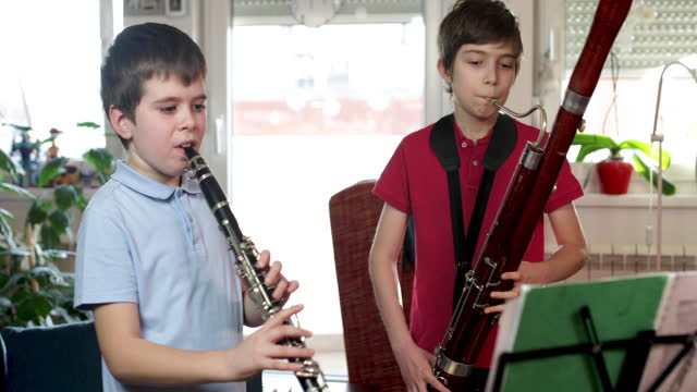 homeschooling music classes - music stock videos & royalty-free footage