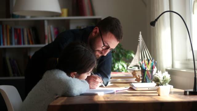 homeschooling - homework stock videos & royalty-free footage