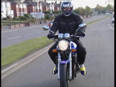 honda cb400 - biker jacket stock videos and b-roll footage