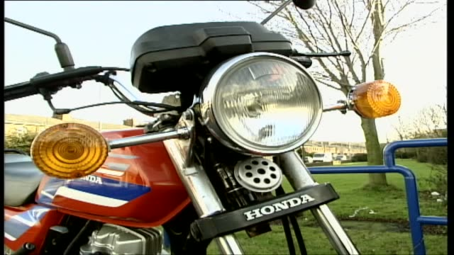honda cg 125 - honda stock videos & royalty-free footage