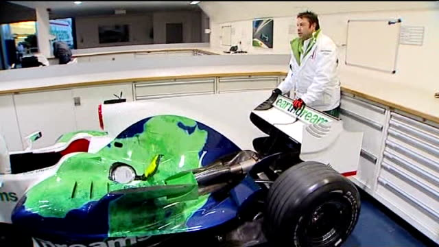 honda formula one team put up for sale; honda mechanics and technicians checking honda car - honda bildbanksvideor och videomaterial från bakom kulisserna