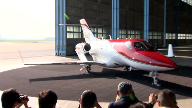 Honda Motor Co unveiled Thursday its HondaJet light business aircraft to the media for the first time in Japan nearly three decades after the...