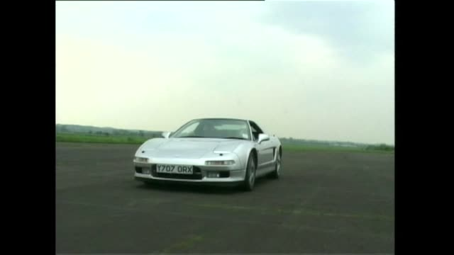 honda nsx coupe - honda stock videos & royalty-free footage