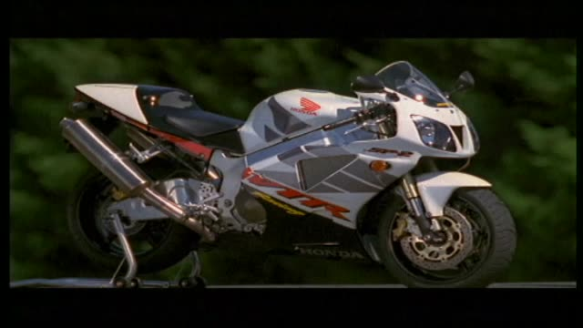 honda vtr1000 sp-2 - honda stock videos & royalty-free footage