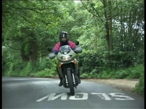 vidéos et rushes de honda xl650v transalp - essai de voiture