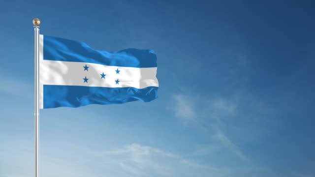 4K Honduras Flag - Loopable