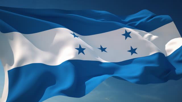 Honduras Flag - Loopable