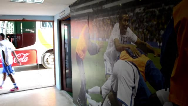 honduras' national football team trained on tuesday in san pedro sula, honduras, ahead of wednesday's pre-world cup friendly against venezuela - national team stock videos & royalty-free footage