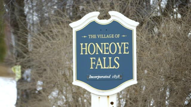 Honeoye Falls Sign