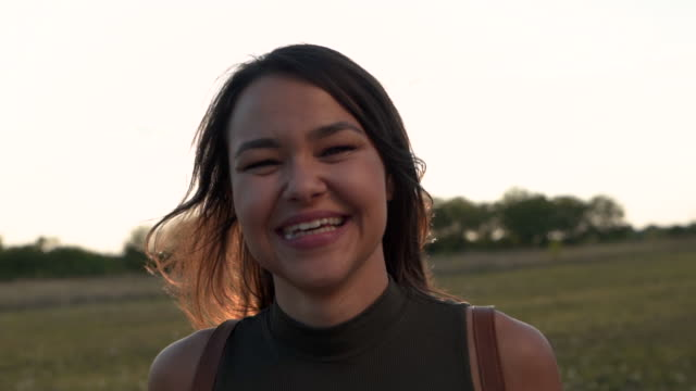 honest smile - video portrait stock videos & royalty-free footage