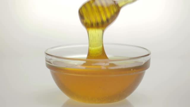 Honey flowing