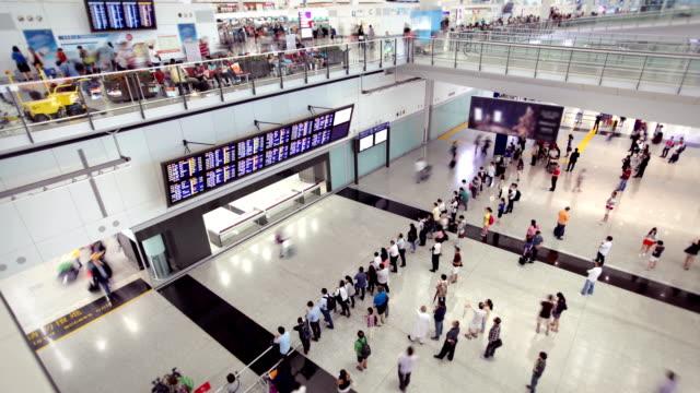 hong kong airport - hong kong international airport stock videos and b-roll footage