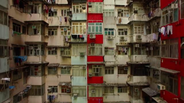 hong kong apartments - hong kong stock videos & royalty-free footage